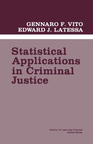 9780803929838: Statistical Applications in Criminal Justice (Law and Criminal Justice System)