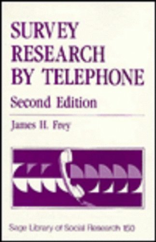 9780803929852: Survey Research by Telephone