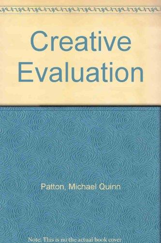 9780803930568: Creative Evaluation