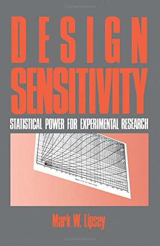 9780803930636: Design Sensitivity: Statistical Power for Experimental Research (Applied Social Research Methods)
