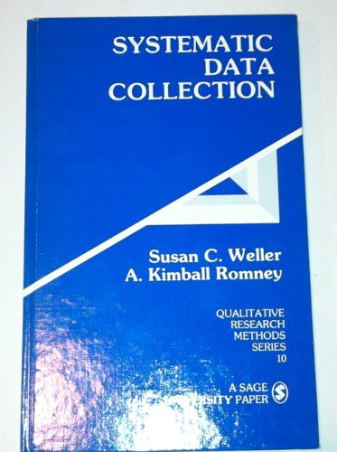 9780803930735: Systematic Data Collection (Qualitative Research Methods)