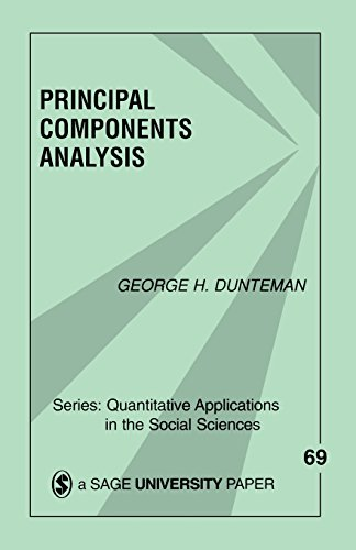 9780803931046: Principal Components Analysis (Quantitative Applications in the Social Sciences)