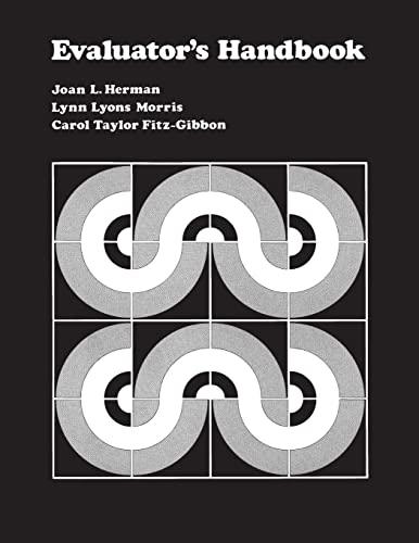 9780803931268: Evaluator's Handbook
