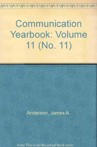 9780803931381: Communication Yearbook: Volume 11 (No. 11)