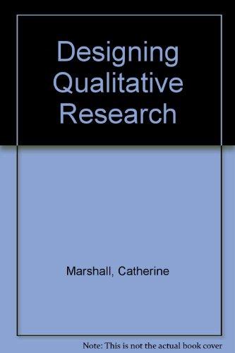 9780803931572: Designing Qualitative Research