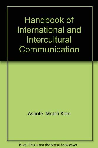 9780803932029: Handbook of International and Intercultural Communication