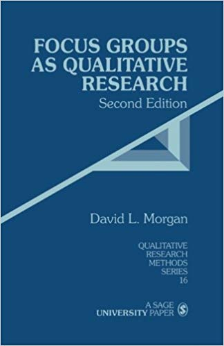9780803932081: Focus Groups as Qualitative Research (Qualitative Research Methods)