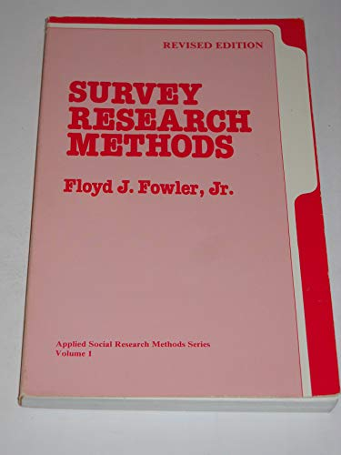 survey research methods applied social research methods