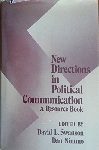 9780803933347: New Directions in Political Communication: A Resource Book