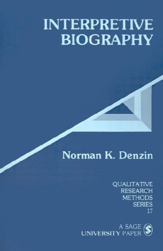 9780803933583: Interpretive Biography (Qualitative Research Methods)