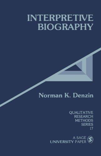 9780803933590: Interpretive Biography (Qualitative Research Methods)