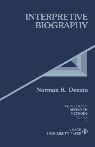 9780803933590: Interpretive Biography (Qualitative Research Methods)