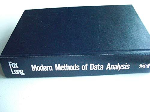 9780803933668: Modern Methods of Data Analysis