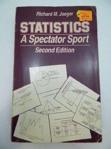 9780803934207: Statistics: A Spectator Sport