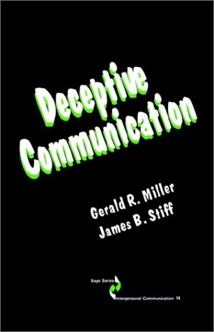 9780803934856: Deceptive Communication (SAGE Series in Interpersonal Communication)