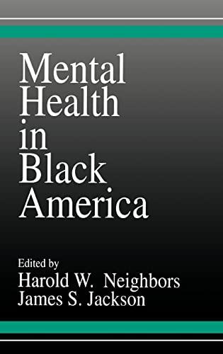 9780803935396: Mental Health in Black America