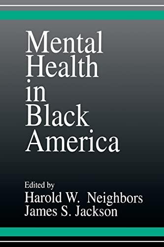 9780803935402: Mental Health in Black America