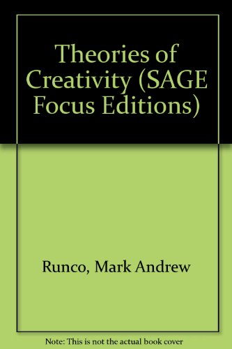 9780803935440: Theories of Creativity (SAGE Focus Editions)
