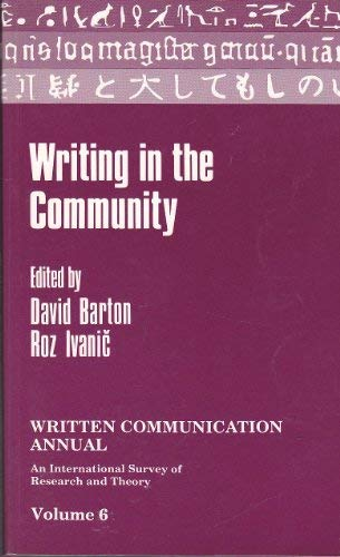 WRITING IN THE COMMUNITY: BARTON, D. / R. IVANIC, EDS.
