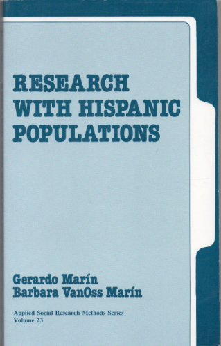 9780803937208: Research with Hispanic Populations (Applied Social Research Methods)