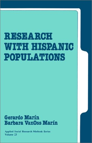 9780803937215: Research with Hispanic Populations (Applied Social Research Methods)