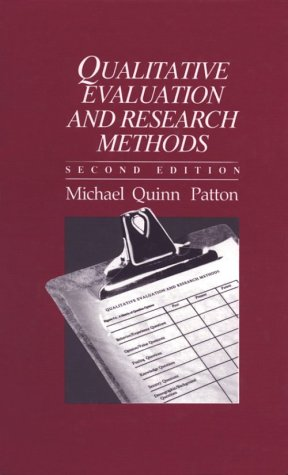 9780803937796: Qualitative Evaluation and Research Methods