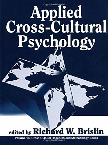 9780803937864: Applied Cross-Cultural Psychology (Cross Cultural Research and Methodology)