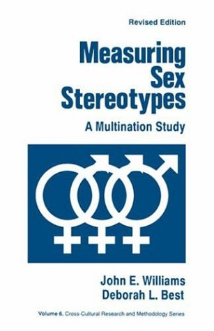 9780803938144: Measuring Sex Stereotypes: A Multination Study: A Thirty Nation Study (Cross Cultural Research and Methodology)