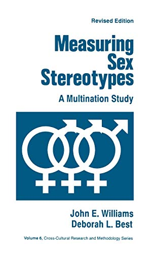 9780803938151: Measuring Sex Stereotypes: A Multination Study (Cross Cultural Research and Methodology)
