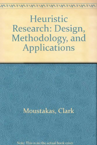 9780803938816: Heuristic Research: Design, Methodology, and Applications
