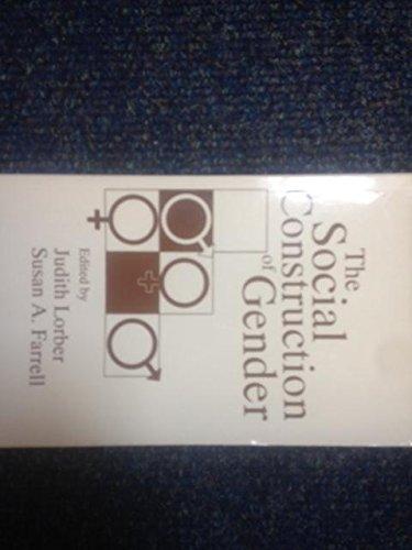 9780803939561: The Social Construction of Gender (Gender & Society Reader)
