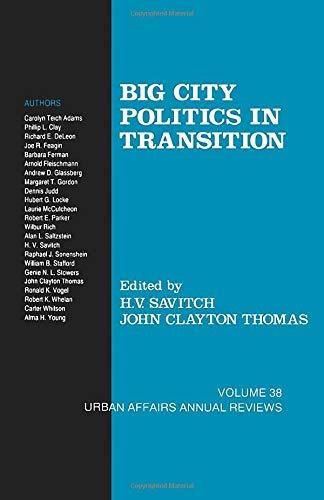9780803940314: Big City Politics in Transition (Urban Affairs Annual Reviews)