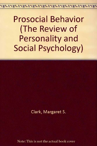9780803940710: Prosocial Behavior (The Review of Personality and Social Psychology)