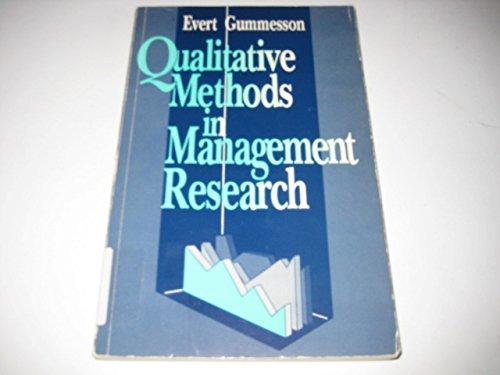 9780803942042: Qualitative Methods in Management Research