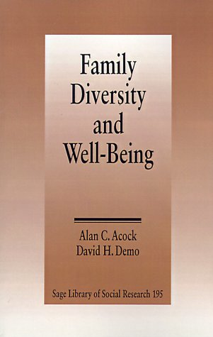 9780803942677: Family Diversity and Well-Being (SAGE Library of Social Research)