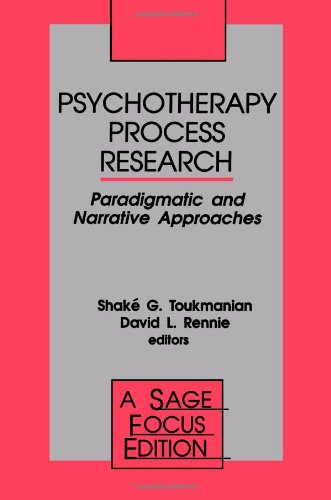 9780803943551: Psychotherapy Process Research: Paradigmatic and Narrative Approaches (SAGE Focus Editions)