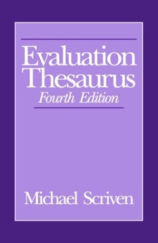 9780803943636: Evaluation Thesaurus