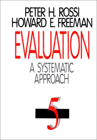 9780803944589: Evaluation: A Systematic Approach