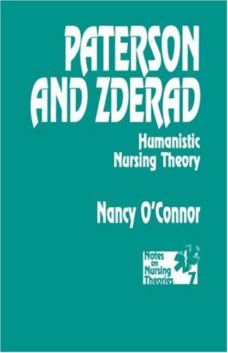 9780803944893: Paterson and Zderad: Humanistic Nursing Theory