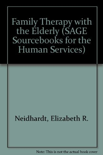 9780803944985: Family Therapy with the Elderly (SAGE Sourcebooks for the Human Services)
