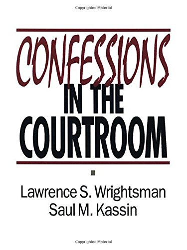 9780803945548: Confessions in the Courtroom