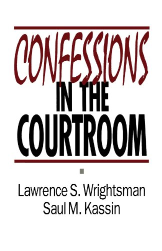 9780803945555: Confessions in the Courtroom