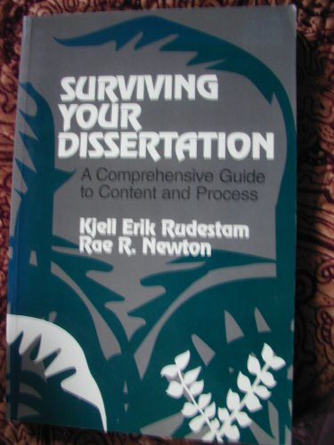 9780803945623: Surviving Your Dissertation: A Comprehensive Guide to Content and Process