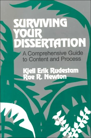 9780803945630: Surviving Your Dissertation: A Comprehensive Guide to Content and Process