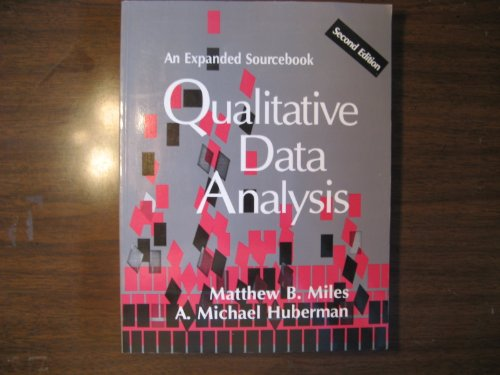 9780803946538: Qualitative Data Analysis: An Expanded Sourcebook
