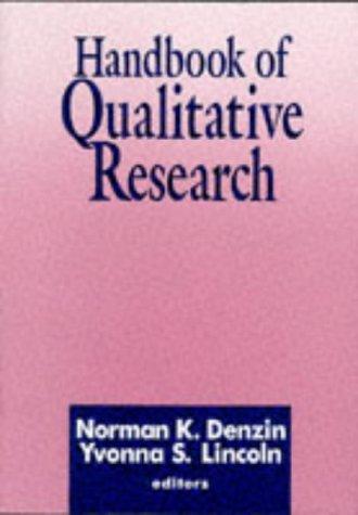 9780803946798: Handbook of Qualitative Research