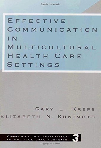 9780803947146: Effective Communication in Multicultural Health Care Settings (Communicating Effectively in Multicultural Contexts)
