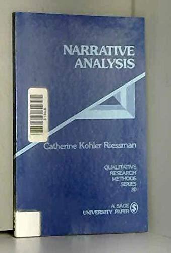 9780803947535: Narrative Analysis (Qualitative Research Methods)