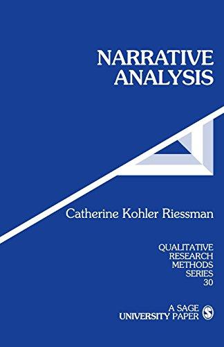 9780803947542: Narrative Analysis (Qualitative Research Methods)