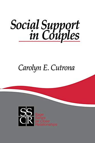 9780803948846: Social Support in Couples: Marriage as a Resource in Times of Stress (SAGE Series on Close Relationships)